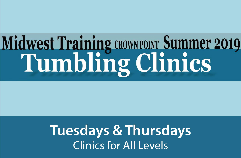 Summer Tumbling Clinics 2019