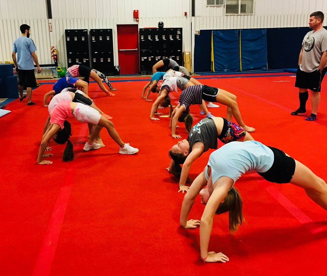 Tumbling Gym Camps